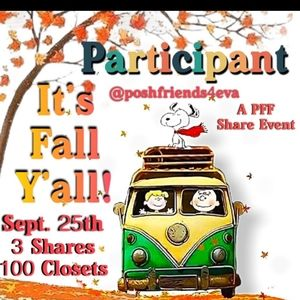 🍂🍂Participant in Fall Share Event!🍂🍂
